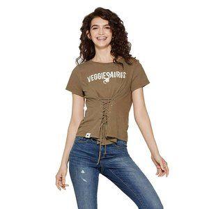 NWT Jurassic World Veggiesaurus T-Shirt XXL Green